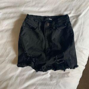 Fashion Nova high waisted shorts